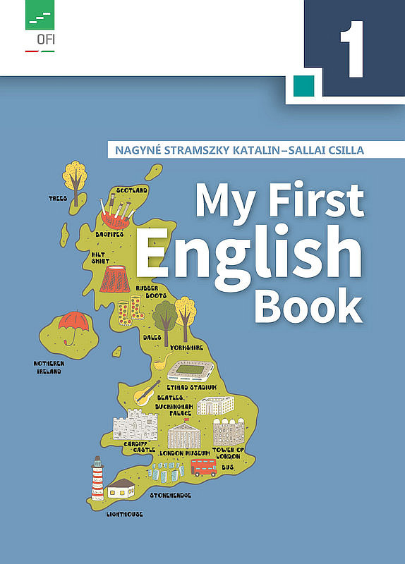 My First English Book boritó kép
