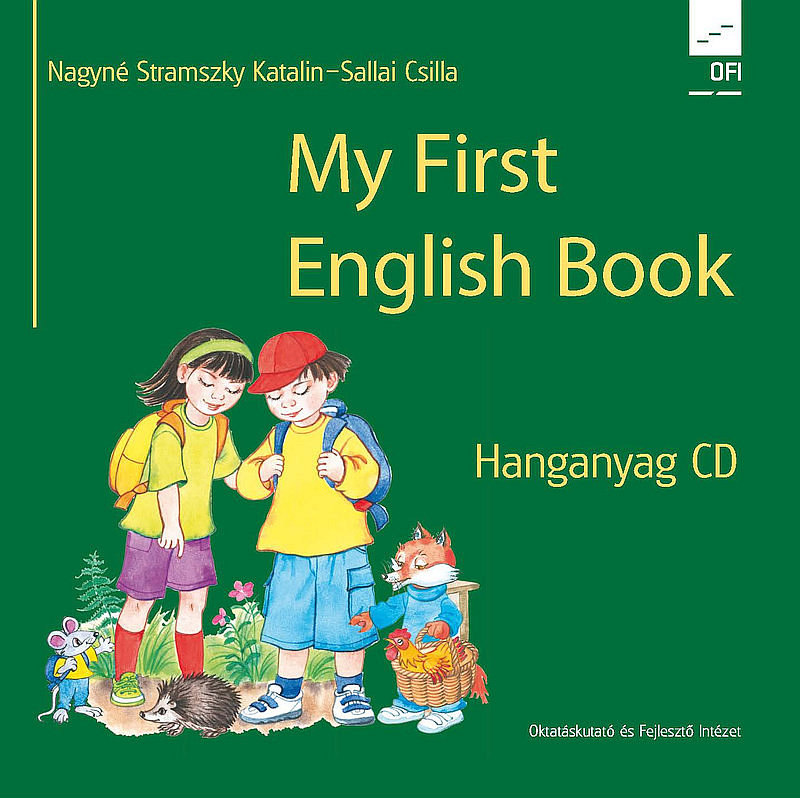 My First English Book CD hanganyag boritó kép