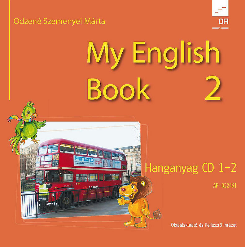 My English Book Class 2. CD I-II. hanganyag boritó kép