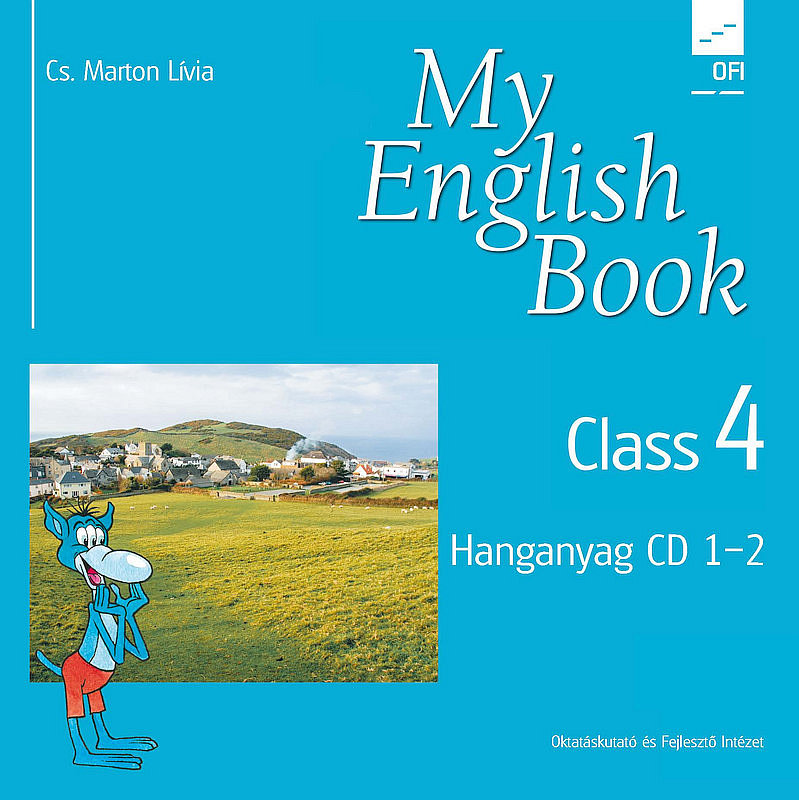 My English Book Class 4. CD tanári boritó kép