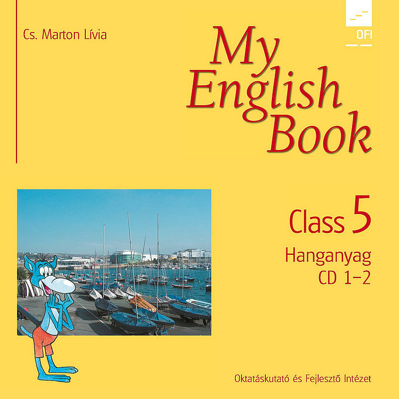 My English Book Class 5. CD I-II. boritó kép