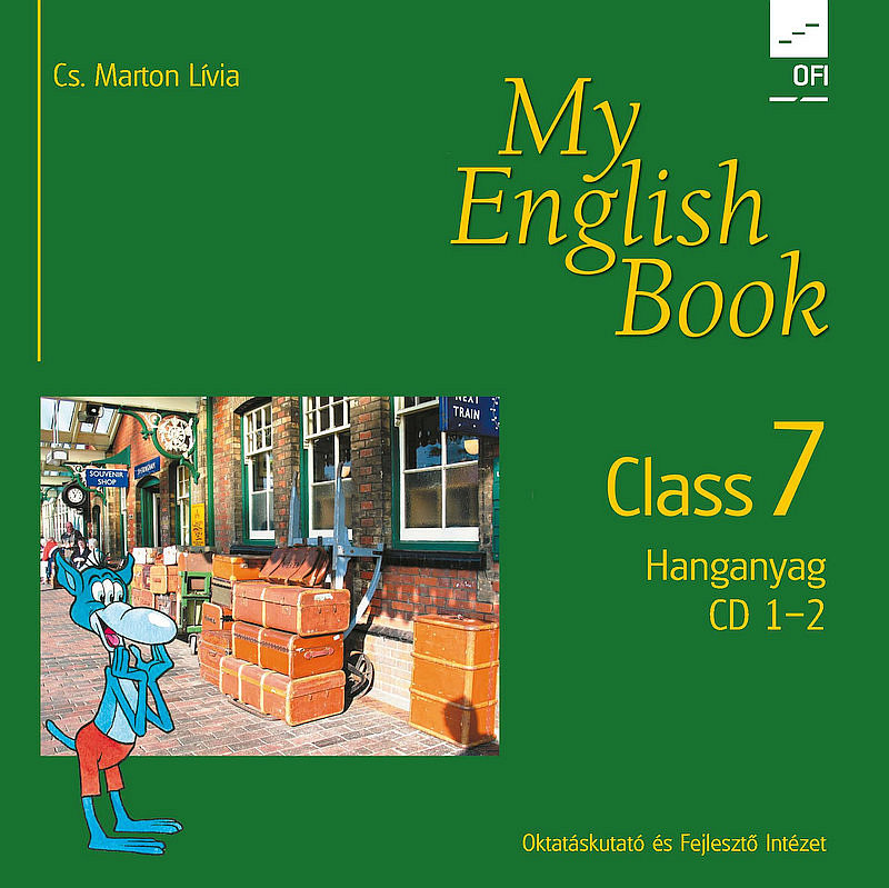 My English Book Class 7 CD I-II. boritó kép