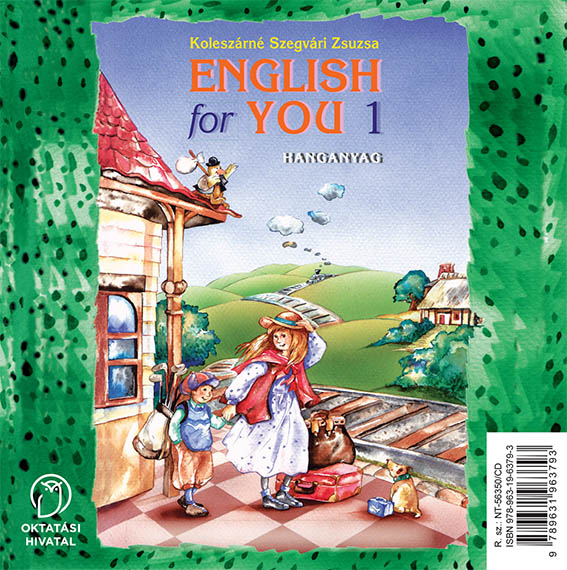 English for You 1 Hanganyag CD-n boritó kép