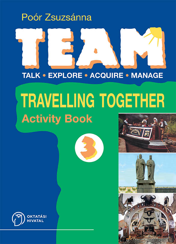 TEAM 3. Activity Book (Munkafüzet) boritó kép