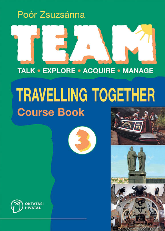 Team 3. Course Book boritó kép
