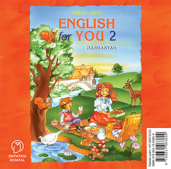 English for You 2 Hanganyag CD-n boritó kép