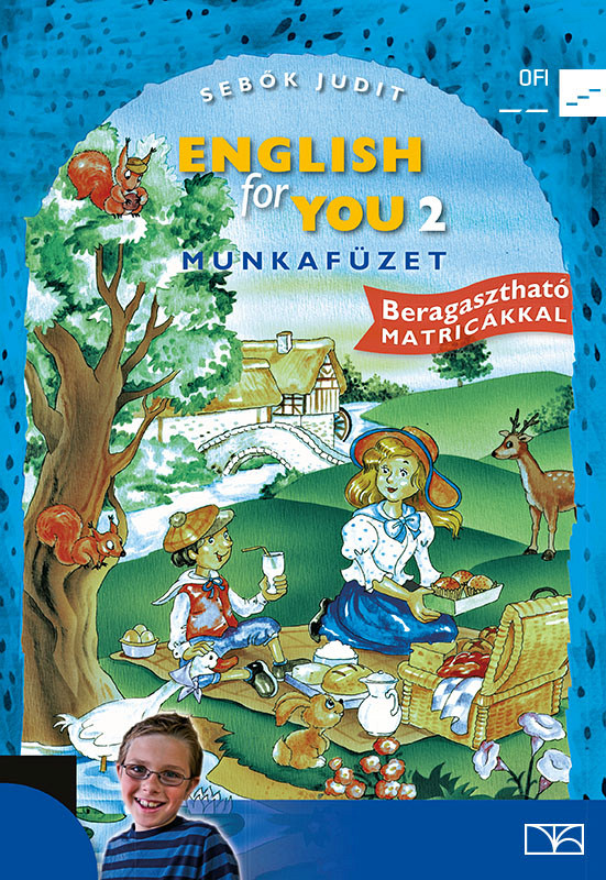 English for You 2. Munkafüzet boritó kép